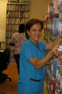 Nilda, File Clerk