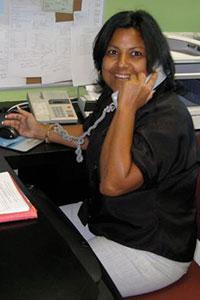 Lisa, Front Desk